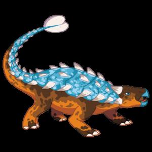 QRex Grafika - Ankylozaur - Dinozaur