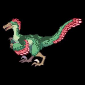 QRex Grafika - Welociraptor -Dinozaur